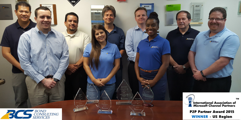 2015 IAMCP Award Winners Bond Consulting Services