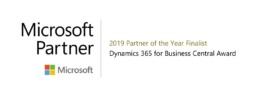 Microsoft Dynamics 365 Business Central Partner of the Year Finalist