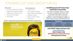 GPUG Membership Slide with box for Partner Coupon Code