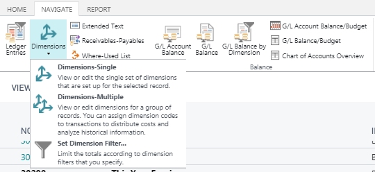 Microsoft Dynamics 365 Business Central | Required Dimensions